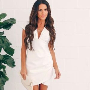 See You Again Bodycon Dress - White (Small)